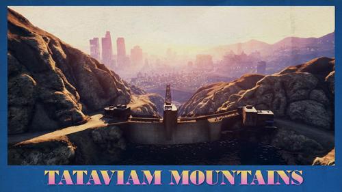 Tataviam-Bergkette-Ansichtskarte