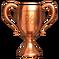 Trophäe Bronze
