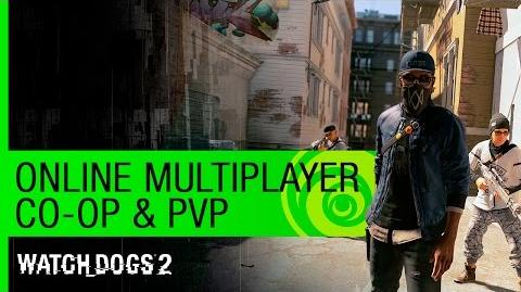Watch Dogs 2 Trailer Online Multiplayer (Co-Op & PVP) - GamesCom 2016 US
