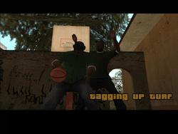 Tagging up Turf, Ganton, SA