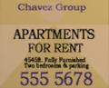 Chavez Group, Plakat, SA