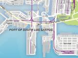 Hafen von South Los Santos