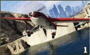 Stuntplane red GTA V
