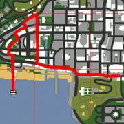 Lowrider-Race-Karte