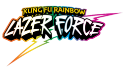 Kung-Fu-Rainbow-Lazer-Force-Logo