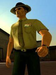 Sergeant Peppah, Fort Baxter, VCS