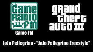 """GTA III (GTA 3) - Game FM JoJo Pellegrino - """"JoJo Pellegrino Freestyle"""""""