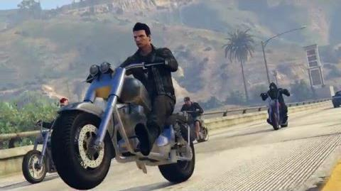 BIKERS UNITE GTA V DLC VIDEO Rockstar Editor
