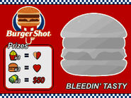 Rubbellose Burger Shot