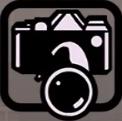 Fotoapparat-Icon, SA