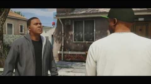 Grand Theft Auto V - Trailer Franklin