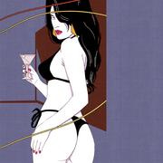 Vice-City-Zwilling-Gemälde