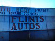 Das Logo von Flints Auto Repairs