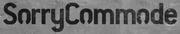 SorryCommode-Logo