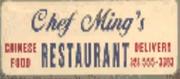 Chef Ming's Restaurant-Logo