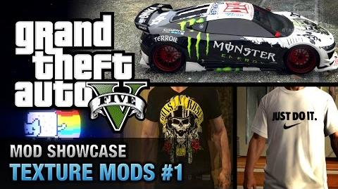 GTA 5 PC - Texture Mods 1 Mod Showcase