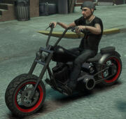 GTA IV Zombie-Bike