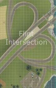 Flint Autobahnkreuz