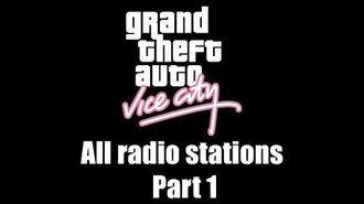 GTA Vice City - All radio stations Part 1 (Rev. 2)