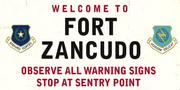 Fort-Zancudo-Schild