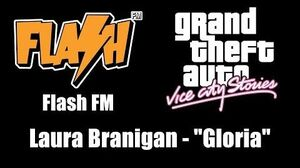 "GTA Vice City Stories - Flash FM Laura Branigan - ""Gloria"""