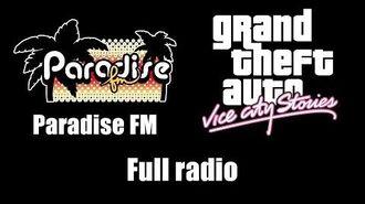 GTA Vice City Stories - Paradise FM (Rev. 1) Full radio