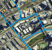 GTA V Backlot City Satellite
