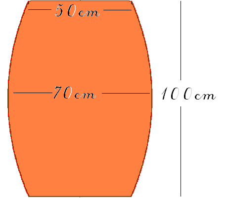 volumen fass berechnen zylinder formeln was laesst sich. Black Bedroom Furniture Sets. Home Design Ideas