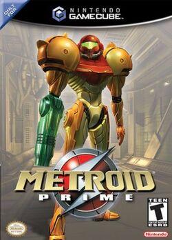 Metroid Prime Cover