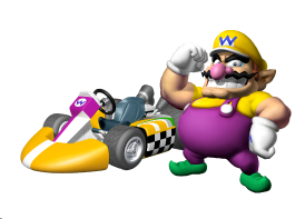 Wario Artwork MKWii