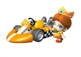 Baby Daisy Artwork MKWii