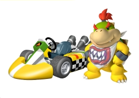 Bowser Jr. Artwork MKWii