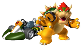 Bowser Artwork MKWii