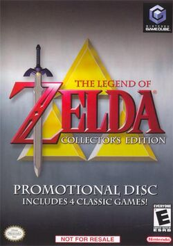 The Legend of Zelda Collector's Edition Cover