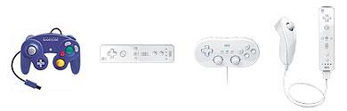 Wii-Gamecubekontroller