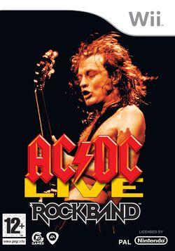 ACDC Live Rock Band Song Pack