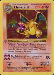 Pokémon Glurak TCG