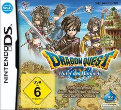 Dragon Quest IX Hüter des Himmels Cover