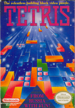Tetris NES-Cover