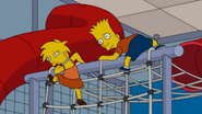 Bart and Lisa doppelgangers 1
