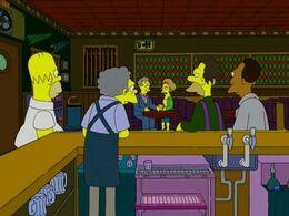 Moe's Taverne innen