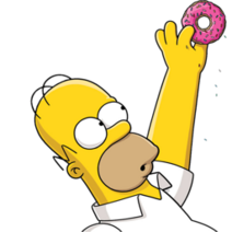 Homer-Simpson-02-Donut-icon