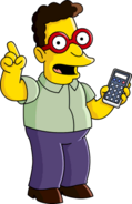Database in the simpsons