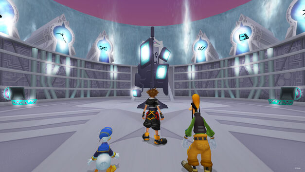 Kingdom Hearts Cavern of Remembrance