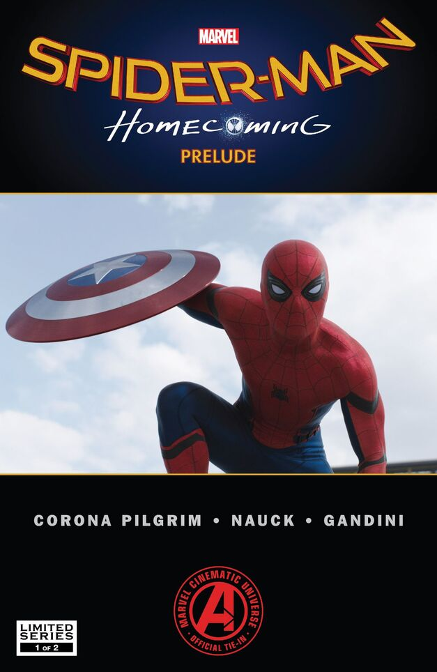 Spider-man: homecoming prelude comic