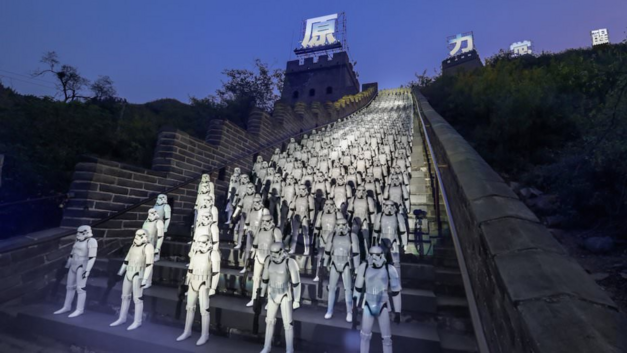 star wars china stormtroopers great wall