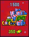 Christmas packs 1500 for 350