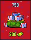 Christmas packs 750 for 200