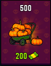 Halloween pack 500 for 200