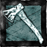 Hunting hatchets icon